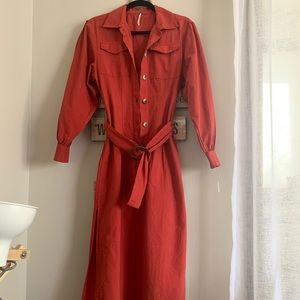 RARE Color Free People Dress